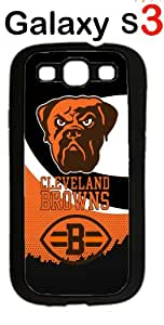 NFL Cleveland Browns Case for Samsung Galaxy S3 Case Silicone Case