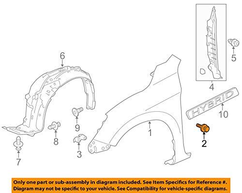 Honda 93405-06016-08 Bolt-Washer (6X16):