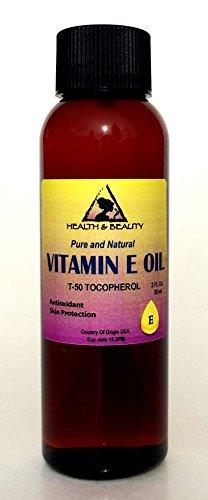Tocopherol T-50 Vitamin E Oil Anti Aging Natural Premium Pure 2 oz