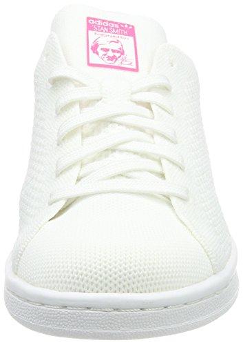 adidas Unisex-Erwachsene Stan Smith PK Turnschuhe Weiß (Footwear White/Footwear White/Ultra Pop)
