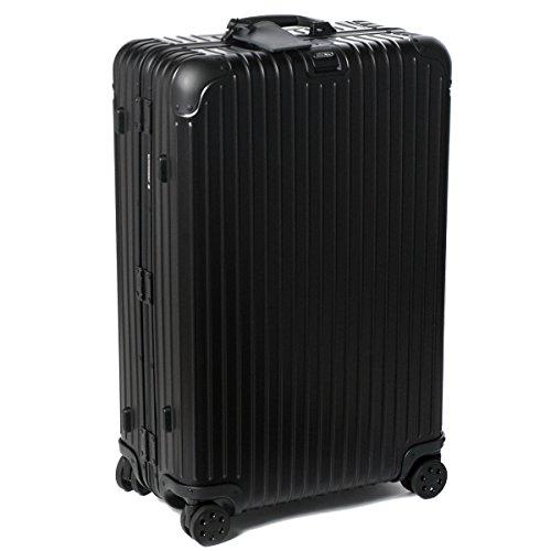 (リモワ)/RIMOWA キャリーバッグ メンズ TOPAS STEALTH スーツケース ELECTRONIC TAG(エレクトロニックタグ) 78L ブラック 92470015-0002-0001 [並行輸入品] B071KTBXCX