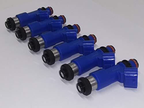 HI-Performance Fuel Injector Fits Nissan 2009-15 370Z 3.7L V6 (6)(600cc) (Injectors 600 Cc)