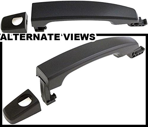 Door Handle Fits Front Left 2011-2015 Buick Regal 2010-2015 Chevrolet Camaro 2011-2015 Cruze 2013-2015 Malibu 2012-2015 Sonic (Smooth Black Paintable; Replaces 92233089, 92233090) ()