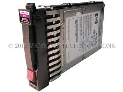 "HP 492620-B21 Proliant 300GB 10K 2.5"" Dual Port in Tray SAS Hard Drive (Certified Refurbished)"