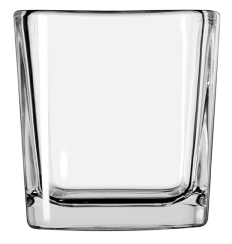 Crisa By Libbey Glass Small Cube Votive 7.5 Ounce ()