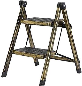 SED Escaleras de tijera multiusos Escalera plegable 2 peldaños Taburete alto antideslizante de 58 cm,J: Amazon.es: Bricolaje y herramientas