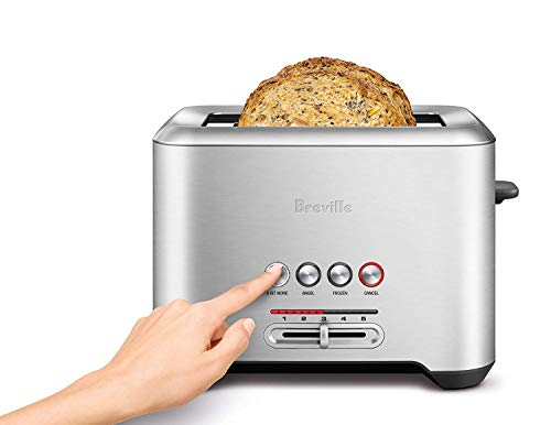 Breville the Bit More Long Slot 4-Slice Stainless Steel Toaster - BTA730XL by Breville (Image #1)