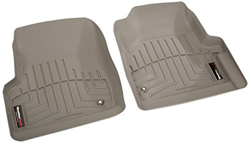 WeatherTech Custom Fit Front FloorLiner for Jeep Wrangler, Grey