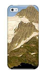 Anti-scratch And Shatterproof Hiker Silhouette Backpacking North Cascades National Park Washington Nature Other Phone Case For Iphone 5c/ High Quality Tpu Case