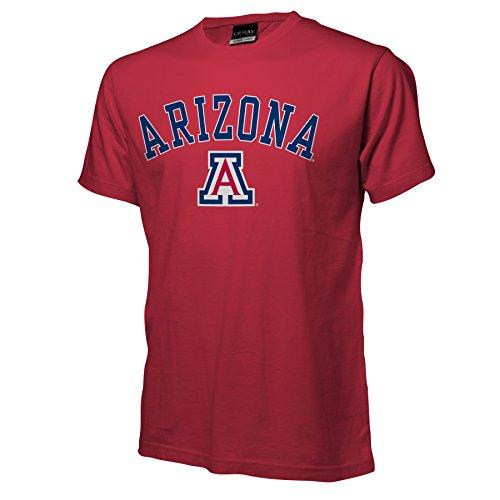 NCAA Arizona Wildcats Ouray Short Sleeve Tee, Red, XX-Large