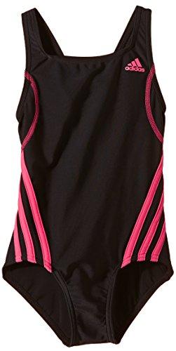 adidas Mädchen Badeanzug INF Sports, Schwarz/Pink, 170, AB7038