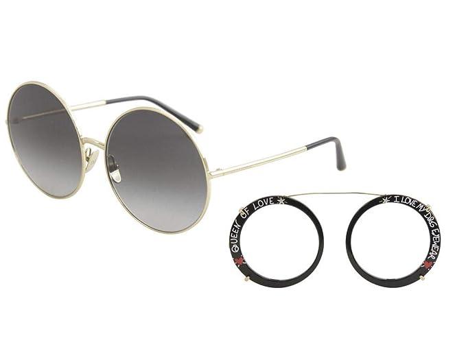 Ray-Ban 0DG2198 Gafas de Sol, Gold/Black, 63 para Mujer ...