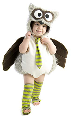 Princess Paradise Baby's Edward The Owl Deluxe Costume, As Shown, 12 to 18 Months]()