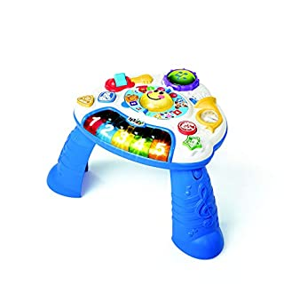 Babies are naturally drawn to music, and the Baby Einstein Discovering Music Activity Table will have your little one coming back for encore after encore. Introduce your child to a world of creativity with an activity center that helps them discover ...