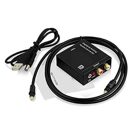 Proxima Direct® Toslink DAC Digital SPDIF para adaptador conversor analógico análogo audio estéreo L/