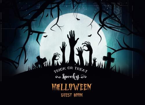 (Halloween Guest Book: Special Memories Keepsake Guest Sign in Book Scary Costume Halloween Parties (Halloween Party Guest Book) (Volume)