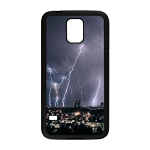 Dustin Lightning Samsung Galaxy S5 lightnings 2 Carcasas aerostream, Lightning [negro]