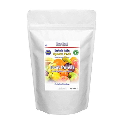 GramZero LG Fruit Punch Drink Mix, 5/2 GALLON Yield (160 ...