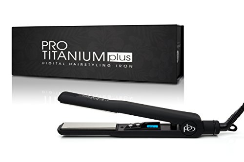 Paul Brown Hawaii Pro Titanium Styling Iron, 22.4 Ounce (Paul Brown Hair Straightener)