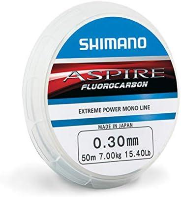 Shimano Aspire fluorocarbono 50 m: Amazon.es: Deportes y aire libre