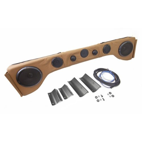 Rugged Ridge 13006.47 6 Speaker Upholstered Spice Sound Bar for Jeep