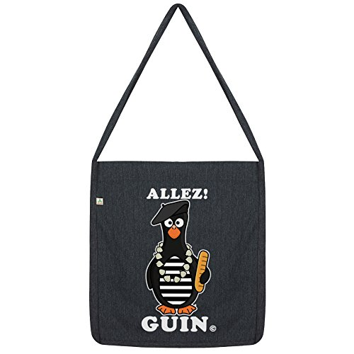 Black Twisted Allez Twisted Tote Penguin Bag Envy Envy French Guin RzA7q