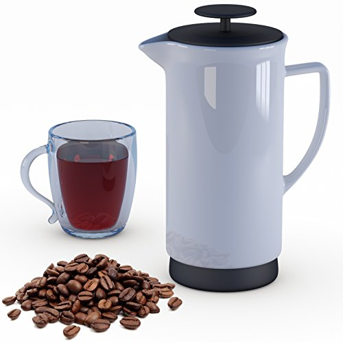 Bonnevie French Press Coffee Tea Maker, 36 oz