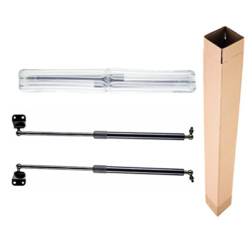 A-Premium Tailgate Rear Hatch Lift Supports Shock Struts for Nissan 350Z 2003-2008 Coupe With Rear Spoiler 2-PC Set - Nissan 350z Coupe Rear Spoiler