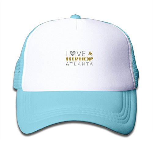 Love And Hip Hop Atlanta Kids Adjustable Mesh Trucker Cap Stars Cotton Bucket Cap (Stars Of Love And Hip Hop Atlanta)