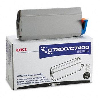 41304208 Toner - Oki 41304208 - 41304208 Toner, 10000 Page-Yield, Black-OKI41304208