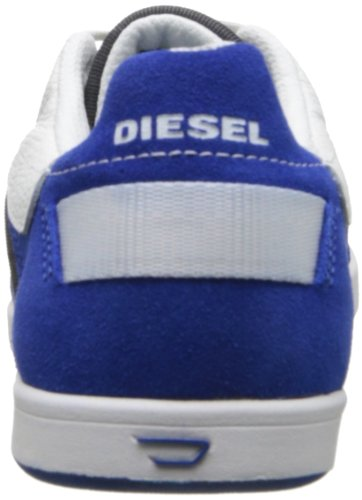 Diesel Mens Eastcop Zetmeel Mode Sneaker Ebbenhout / True Blue