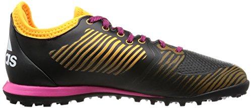 adidas X 15.1 Cg, Botas de Fútbol para Hombre Negro / Rosa / Amarillo (Negbas / Balcri / Dorsol)
