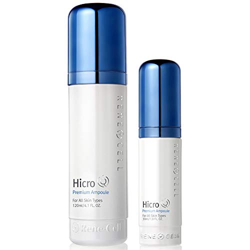 RENECELL [Rene Cell] Hicro Q Premium Ampoule Set (120ml/4.1oz + 30ml/1.0oz), Deep Boosting Care Serum for All Skin Types