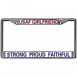 Amazon Com Proven Best License Plate Frame Tag Proud Usaf
