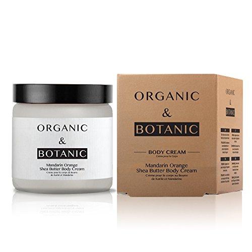 - Organic & Botanic Vegan Mandarin Orange Shea Butter Hydrating Body Cream 100ml for Dry and Sensitive Skin. Premium Vegan Skincare For All Skin Types. Made In The UK.