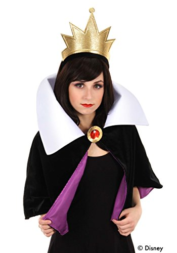Halloween Costumes Evil Queen (Disney's Snow White Evil Queen Headband Crown and Collar Kit by elope)