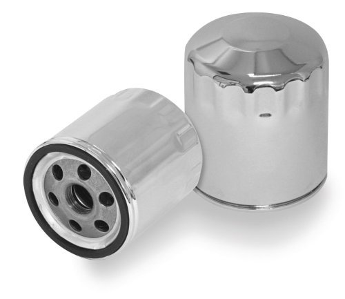 S&S Cycle Oil Filter, Chrome