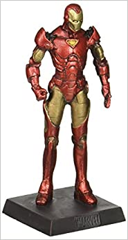 Classic Marvel Figurine Collection  12 Iron Man by Eaglemoss