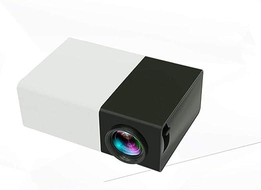 WENXX Mini Proyector Portátil, Videoproyector Compacto, LCD De ...
