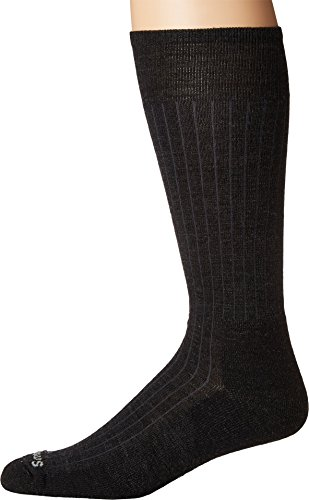 New Gray Ribbed (Smartwool  Men's New Classic Rib Charcoal Large)