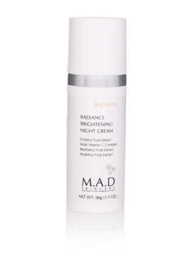 M.A.D Skincare Brightening Radiance Brightening Night Cream, 50g 1.7oz