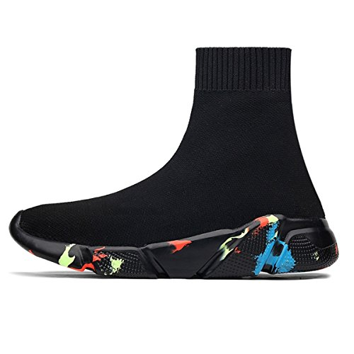 1aeb6f59f67e ... BADIER Mens Socks Shoes High Top Womens Mesh Casual Walking Running  Sport Sneakers Multicolor. Product 1694 22441. prev · Product List · next.  Model  ...