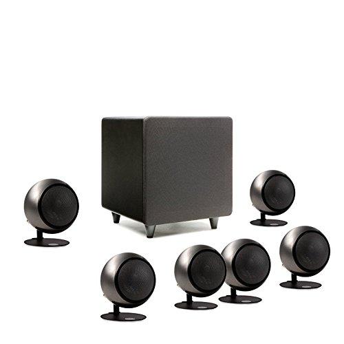 Orb Audio Mini 5.1 Plus – Hand Polished Steel