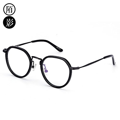 Gun KOMNY y azul las modelos radiaciones marco Color Black gafas negro Gafas contra gafas marea oro Equipo bastidor Frame pierna rRUCwqIr