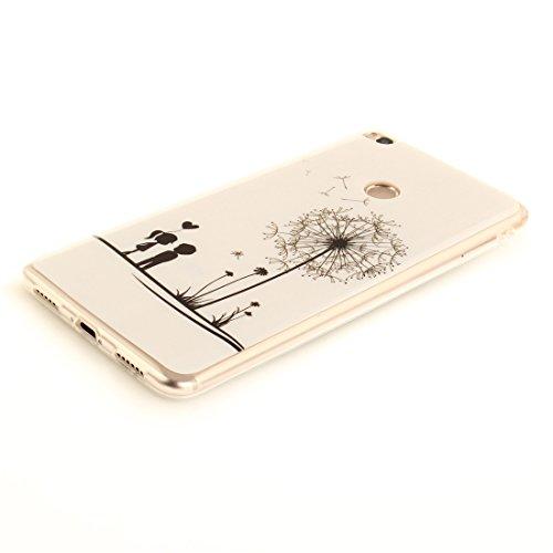 Cas Arrière De Peint Scratch TPU Souple Antichoc Cas Protection Fit Hozor Silicone Couverture Bord Mi Max Xiaomi De 2 Dandelion Transparent Slim Motif Téléphone Résistant En aWxxU17qA
