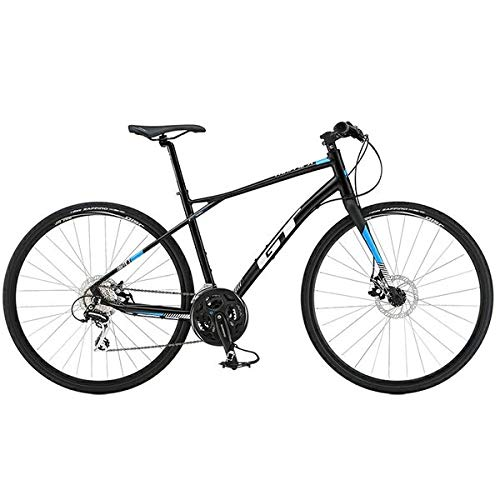 GT クロスバイク TRAFFIC X (700C) ブラック 2019 Lサイズ B07HFT963W