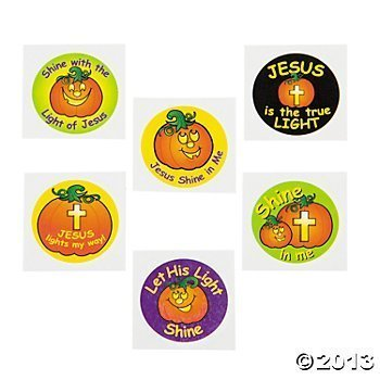 PUMPKIN 72 Christian Halloween Alternative Tattoos for $<!--$11.99-->
