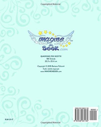 Ricette: Quaderno per scrivere ricette - Disegno di ...