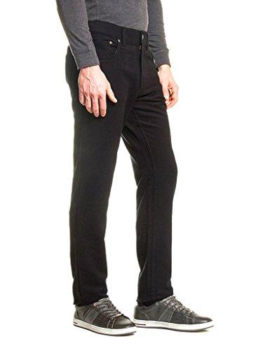 Per Fustagno 50 Pantalone Unita Dritto Carrera Vestibilità Modello 7001065a Tinta Nero eu 34 Regular 44 Us Vita L Uomo Jeans Fr 899 Normale wUC5zqfxzt