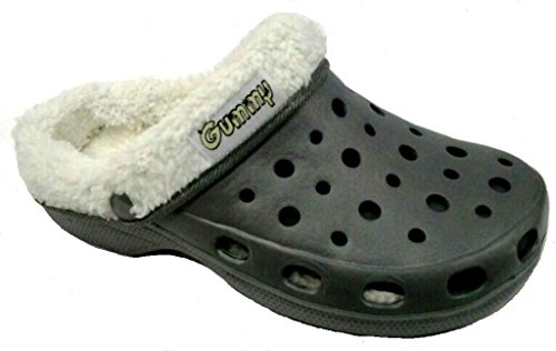 mujer Sintético Zapatillas 36 estar Material gris casa de dema gris de por para dz07wxRqRp